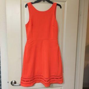 Banana Republic orange dress